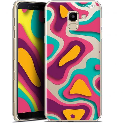 "Carcasa Gel Extra Fina Samsung Galaxy J6 2018 J600 (5.6"") Design Popings"