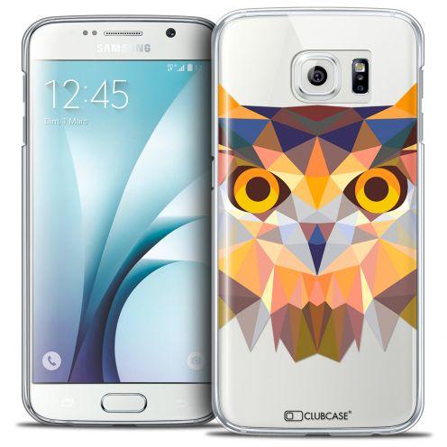 Carcasa Crystal Extra Fina Galaxy S6 Polygon Animals Búho