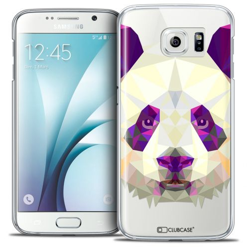 Carcasa Crystal Extra Fina Galaxy S6 Polygon Animals Panda