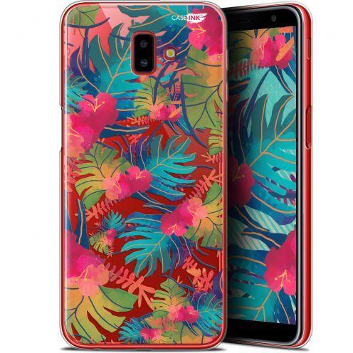 "Carcasa Gel Extra Fina Samsung Galaxy J6 Plus J6+ (6.4"") Design Couleurs des Tropiques"