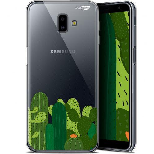 "Carcasa Gel Extra Fina Samsung Galaxy J6 Plus J6+ (6.4"") Design Cactus"