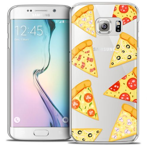 Carcasa Crystal Extra Fina Galaxy S6 Edge Foodie Pizza