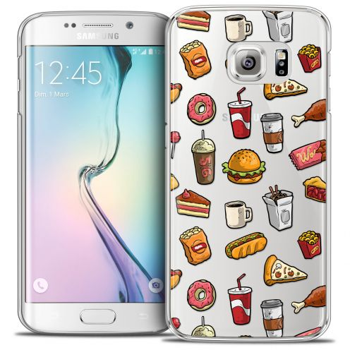 Carcasa Crystal Extra Fina Galaxy S6 Edge Foodie Fast Food