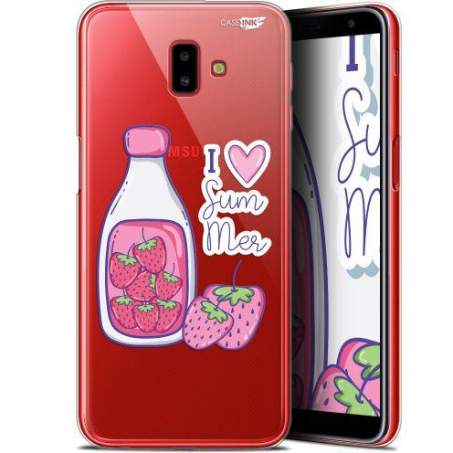 "Carcasa Gel Extra Fina Samsung Galaxy J6 Plus J6+ (6.4"") Design Milky Summer"