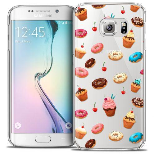 Carcasa Crystal Extra Fina Galaxy S6 Edge Foodie Donuts