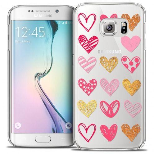 Carcasa Crystal Extra Fina Galaxy S6 Edge Sweetie Doodling Hearts