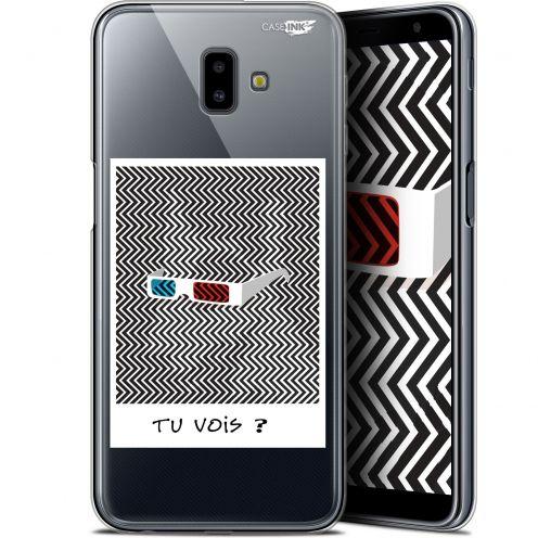 "Carcasa Gel Extra Fina Samsung Galaxy J6 Plus J6+ (6.4"") Design Tu Vois ce que Je Vois ?"