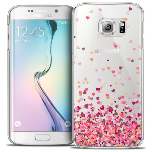 Carcasa Crystal Extra Fina Galaxy S6 Edge Sweetie Heart Flakes