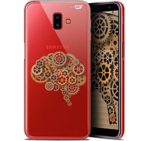"Carcasa Gel Extra Fina Samsung Galaxy J6 Plus J6+ (6.4"") Design Mécanismes du Cerveau"