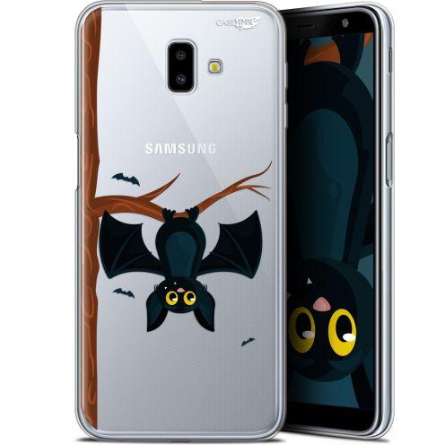 "Carcasa Gel Extra Fina Samsung Galaxy J6 Plus J6+ (6.4"") Design Petite Chauve Souris"
