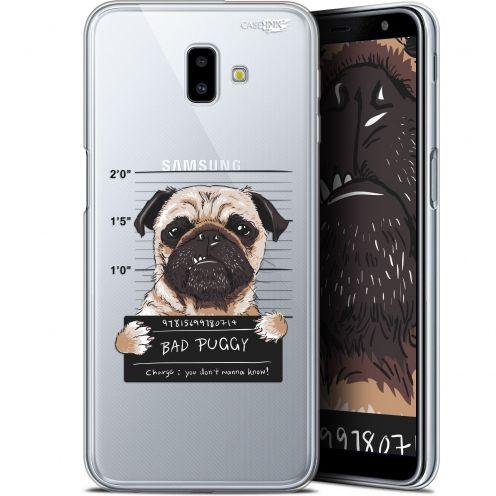 "Carcasa Gel Extra Fina Samsung Galaxy J6 Plus J6+ (6.4"") Design Beware The Puggy Dog"