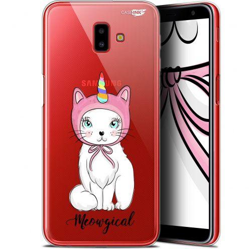 "Carcasa Gel Extra Fina Samsung Galaxy J6 Plus J6+ (6.4"") Design Ce Chat Est MEOUgical"