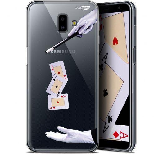 """Carcasa Gel Extra Fina Samsung Galaxy J6 Plus J6+ (6.4"""") Design Cartes Magiques"""