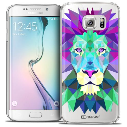 Carcasa Crystal Extra Fina Galaxy S6 Edge Polygon Animals León