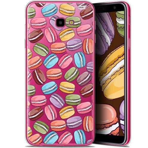 "Carcasa Gel Extra Fina Samsung Galaxy J4 Plus J4+ (6"") Design Macarons"