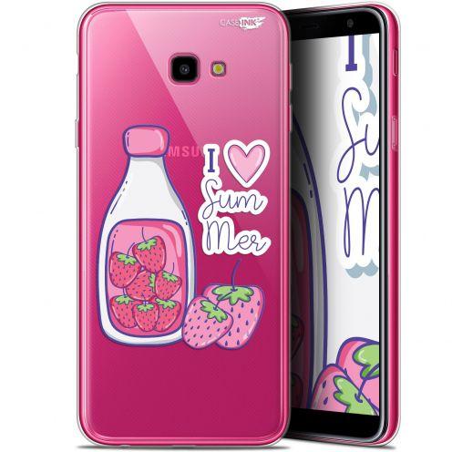 "Carcasa Gel Extra Fina Samsung Galaxy J4 Plus J4+ (6"") Design Milky Summer"