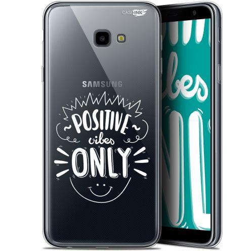"Carcasa Gel Extra Fina Samsung Galaxy J4 Plus J4+ (6"") Design Positive Vibes Only"