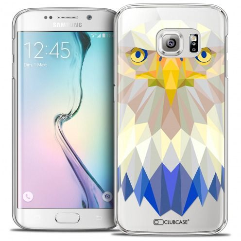 Carcasa Crystal Extra Fina Galaxy S6 Edge Polygon Animals Águila