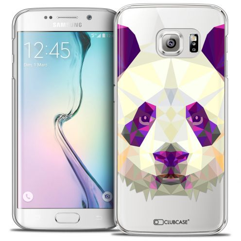 Carcasa Crystal Extra Fina Galaxy S6 Edge Polygon Animals Panda