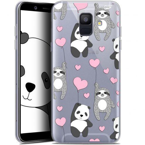 "Carcasa Gel Extra Fina Samsung Galaxy A6 2018 (5.45"") Design Panda'mour"