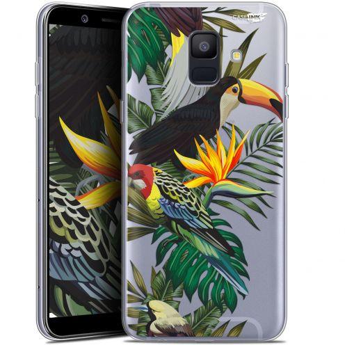 """Carcasa Gel Extra Fina Samsung Galaxy A6 2018 (5.45"""") Design Toucan Tropical"""