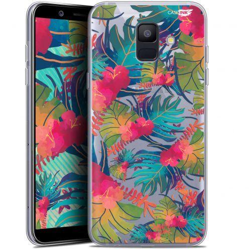 "Carcasa Gel Extra Fina Samsung Galaxy A6 2018 (5.45"") Design Couleurs des Tropiques"