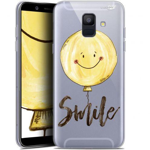 """Carcasa Gel Extra Fina Samsung Galaxy A6 2018 (5.45"""") Design Smile Baloon"""