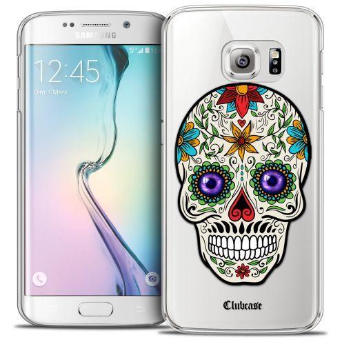 Carcasa Crystal Extra Fina Galaxy S6 Edge Skull Maria's Flower