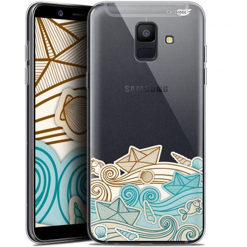 "Carcasa Gel Extra Fina Samsung Galaxy A6 2018 (5.45"") Design Bateau de Papier"