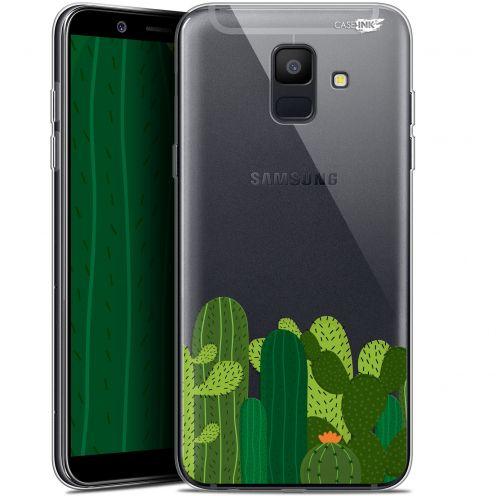"Carcasa Gel Extra Fina Samsung Galaxy A6 2018 (5.45"") Design Cactus"