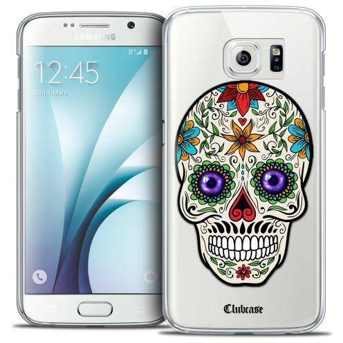 Carcasa Crystal Extra Fina Galaxy S6 Skull Maria's Flower