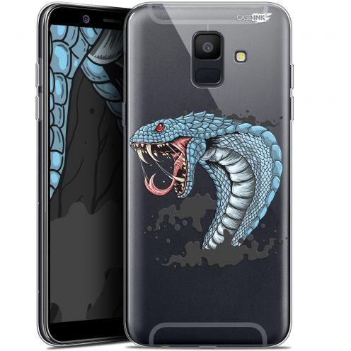 "Carcasa Gel Extra Fina Samsung Galaxy A6 2018 (5.45"") Design Cobra Draw"