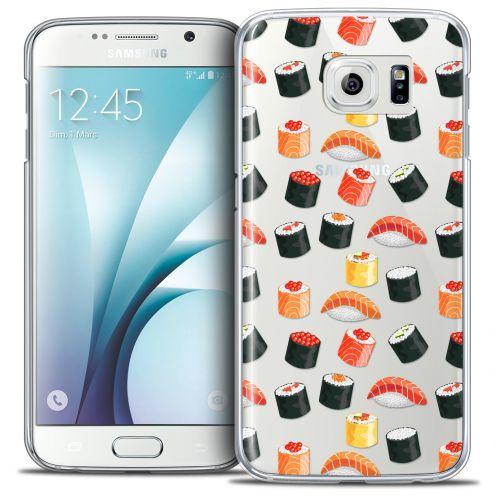 Carcasa Crystal Extra Fina Galaxy S6 Foodie Sushi