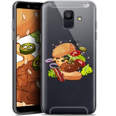 "Carcasa Gel Extra Fina Samsung Galaxy A6 2018 (5.45"") Design Splash Burger"