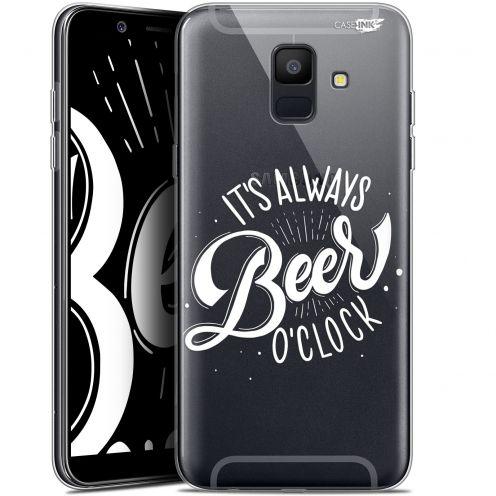 "Carcasa Gel Extra Fina Samsung Galaxy A6 2018 (5.45"") Design Its Beer O'Clock"