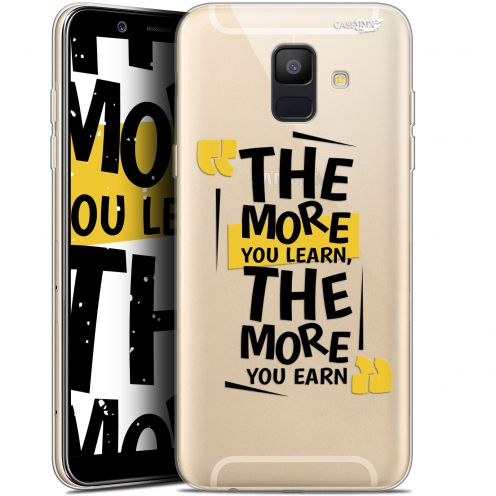 "Carcasa Gel Extra Fina Samsung Galaxy A6 2018 (5.45"") Design The More You Learn"