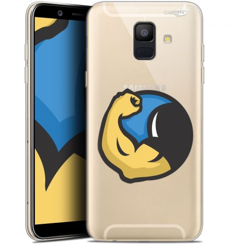 "Carcasa Gel Extra Fina Samsung Galaxy A6 2018 (5.45"") Design Monsieur Muscle"