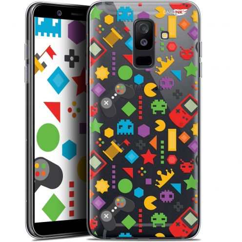 "Carcasa Gel Extra Fina Samsung Galaxy A6 PLUS 2018 (6"") Design PacMan"