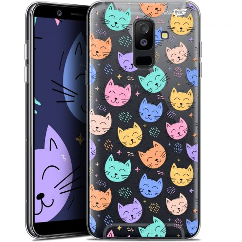 "Carcasa Gel Extra Fina Samsung Galaxy A6 PLUS 2018 (6"") Design Chat Dormant"