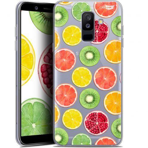"""Carcasa Gel Extra Fina Samsung Galaxy A6 PLUS 2018 (6"""") Design Fruity Fresh"""