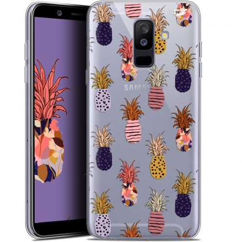 "Carcasa Gel Extra Fina Samsung Galaxy A6 PLUS 2018 (6"") Design Ananas Gold"