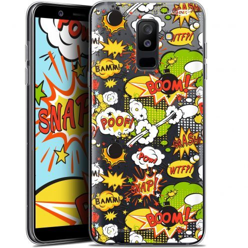 "Carcasa Gel Extra Fina Samsung Galaxy A6 PLUS 2018 (6"") Design Bim Bam Boom"