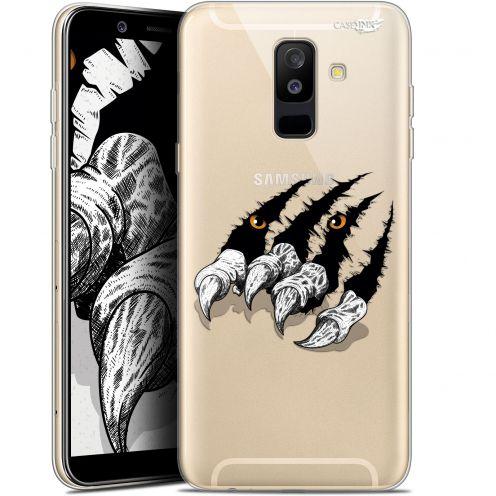 "Carcasa Gel Extra Fina Samsung Galaxy A6 PLUS 2018 (6"") Design Les Griffes"