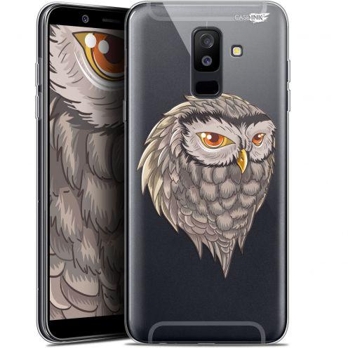 """Carcasa Gel Extra Fina Samsung Galaxy A6 PLUS 2018 (6"""") Design Hibou Draw"""
