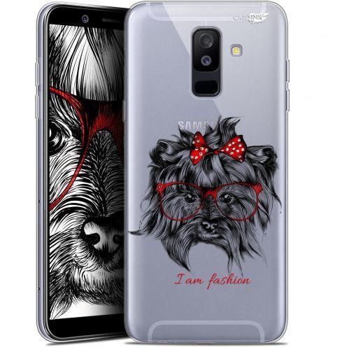 """Carcasa Gel Extra Fina Samsung Galaxy A6 PLUS 2018 (6"""") Design Fashion Dog"""