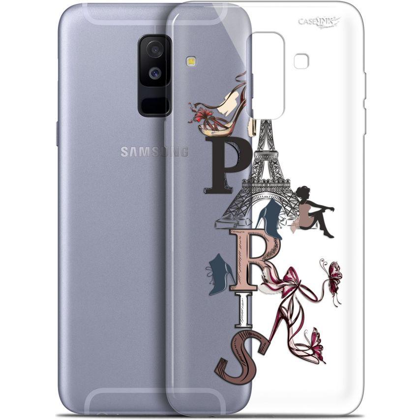"""Carcasa Gel Extra Fina Samsung Galaxy A6 PLUS 2018 (6"""") Design Stylish Paris"""