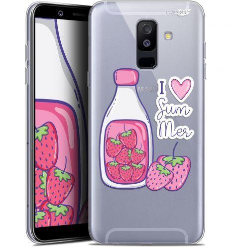"Carcasa Gel Extra Fina Samsung Galaxy A6 PLUS 2018 (6"") Design Milky Summer"