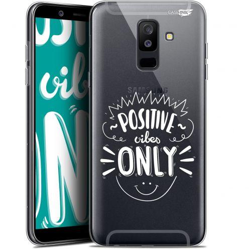 "Carcasa Gel Extra Fina Samsung Galaxy A6 PLUS 2018 (6"") Design Positive Vibes Only"
