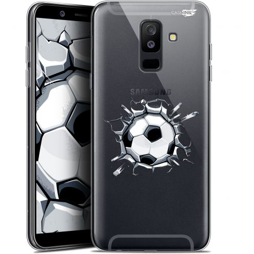 "Carcasa Gel Extra Fina Samsung Galaxy A6 PLUS 2018 (6"") Design Le Balon de Foot"