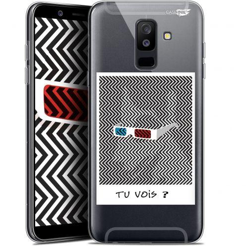 "Carcasa Gel Extra Fina Samsung Galaxy A6 PLUS 2018 (6"") Design Tu Vois ce que Je Vois ?"